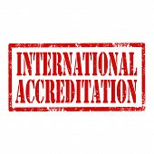 International Accreditation-stamp