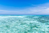 Crystal Clear Sea Of Tropical Island