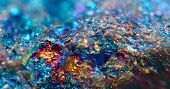 pic of extreme close-up  - Macro a photo extreme close up colour metal - JPG