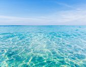 pic of crystal clear  - Crystal clear sea of tropical island Similan Thailand - JPG
