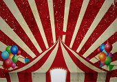 stock photo of cabaret  - Illustration of Vintage circus - JPG