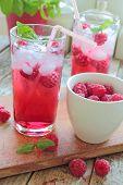 Rasberries drink