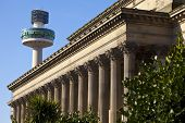 St. George's Hall And Radio City Tower In Liverpool