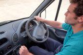 Van Driver Right Hand Drive Vehicle.