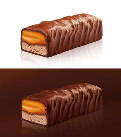 foto of snickers  - Chocolate can be used in packaging consisting of photos and illustrations snickers manipulation - JPG