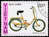 Post Stamp From Vietnam