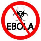 Stop Ebola Sign
