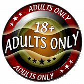 18 Adults Only Icon