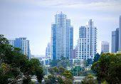 Downtown City and Freeway, San Diego California USA