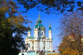Saint Andrew's church in Kiev
