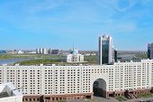 Astana. Kazakhstan. Business And Cultural Center Of The City.