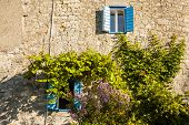 Mediterranean style house.