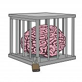 Caged mind