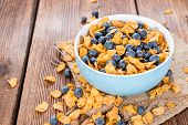 Cornflakes With Blueberries