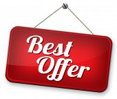 best offer lowest price for value web shop or online promotion