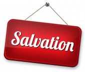 salvation by trust in God and Jesus