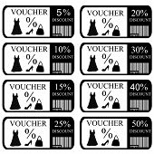 Vouchers Set For Women Clothes And Accessories