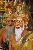 Ermitaño Estatua Tailandia