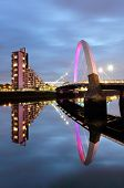 The Glasgow Clyde Arc Bridge
