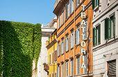 Trattoria Sign in Rome