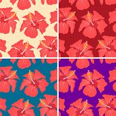 patterns with hibiscus