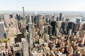 urban skyscrapers, new york city skyline
