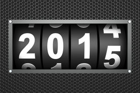image of countdown  - 2015 New year countdown timer - JPG
