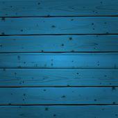 Blue wood planks texture. Vector illustration