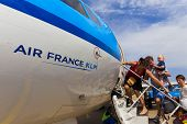 Travellers Boarding An Air France Klm Cityhopper