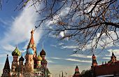 Moscow in spring