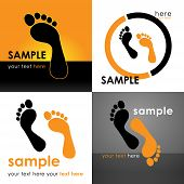 pic of footprint  - Footprints Logo - JPG