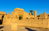East Exterior Wall Of The Karnak Temple - Egypt