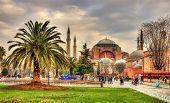 View Of Hagia Sophia (holy Wisdom) - Istanbul, Turkey