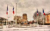 Monument To French Soldiers In Saint-die-des-vosges - Lorraine, France