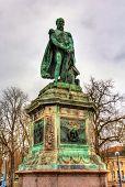 Statue Of Antoine Drouot, One Of Napoleon's Generals, In Nancy, France