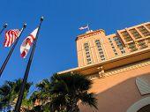 Orlando, Florida, Usa - May 20, 2007: The Jw Marriott Orlando Hotel Becomes To  Grande Lakes Luxury