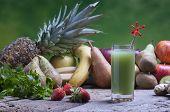 Freshly Squeezed Kiwi Fruit Juices