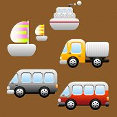 Transports / Vehicles icons