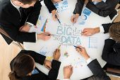 Businesspeople  Planning Bigdata