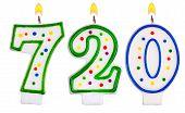 Candles Number Seven Hundred Twenty
