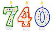 Candles Number Seven Hundred Forty