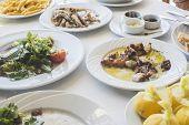 picture of piraeus  - Octopus in a Greek restaurant - JPG