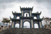 Gates Of Linh Ung Pagoda Vietnam Danang
