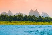 Sunrise at Li River