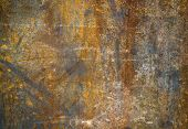 Abstract generated textured rust metal surface background