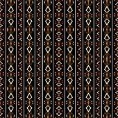 Tribal Dark Geometric Pattern