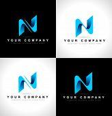 Letter N Llogo Design