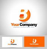 foto of letter b  - Letter B logo Design - JPG
