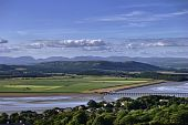 Arnside Viaduct And The Lake District Fells