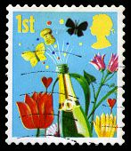 Celebration Used British Postage Stamp